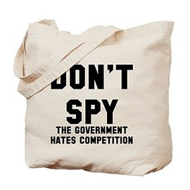 cafe press - Spy Government Competition Tote Bag