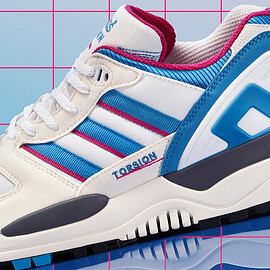 adidas - ZX 0000 - Crystal White/Bright Blue/Bold Pink