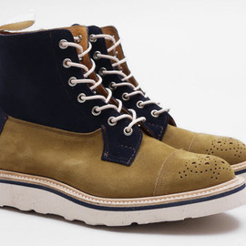 Tricker's - PRESENT x Trickers   Two Tone Superboots