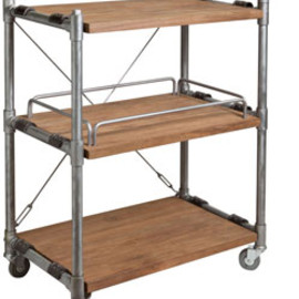 abchome - harmony 3-tier cart/trolley