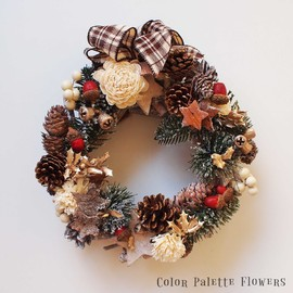 Color Palette Flowers - Nordic White Christmas