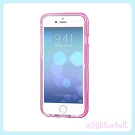 plamode - LED Flash bumper iPhone case Rose
