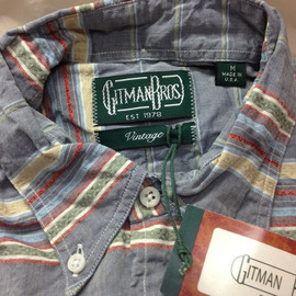 Gitman Vintage - Stripe Shirt