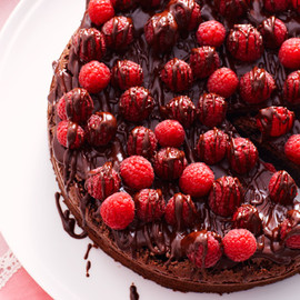Australian - Chocolate and raspberry cake