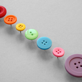 Present&Correct - Button Push Pins