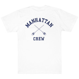 ONLY NY - Manhattan Crew Tee White