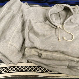 Vintage 60-70's - Hooded Sweat Shirt/Deadstock