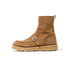 nonnative - HUNTER ZIP UP BOOTS COW LEATHER