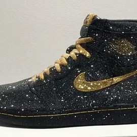 Daniel Jacob - Air Jordan 1 (Crystal) - Black/Gold