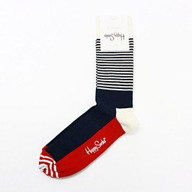 Happy Socks - Stripe Half 02 01