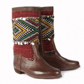 Bohemia - Kilim & Leather Boots, Zahia
