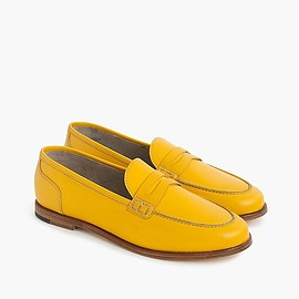 J.CREW - Ryan penny loafers in leather