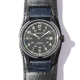 NEIGHBORHOOD, HAMILTON - FIELD AUTO /WRIST-WATCH