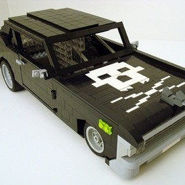 "LEGO - CHEVROLET CHEVYII NOVA SS ""DEATH PROOF"""