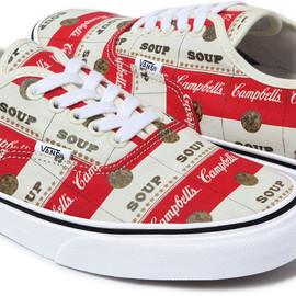 "Supreme x Vans - Authentic ""Campbell's Soup"""