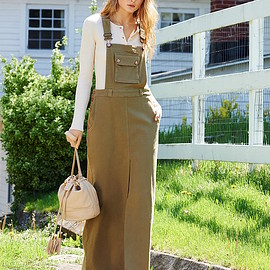 See by Chloé - See by Chloé Overall Maxi Dress
