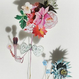 Pressed flower & collages by Anne Ten Donkelaar