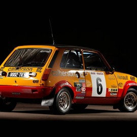 Renault - 5 Alpine rally