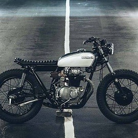 "Steel 2 Ride Custom Motorcycles - Honda CB 350 "" Maggie May """