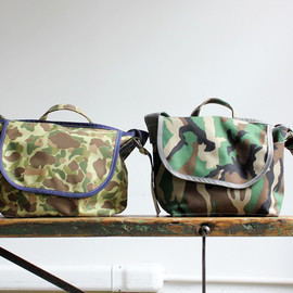 TEMBEA - WIRE BAG-2 SMALL-CAMO