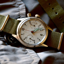 Breitling Canadian Military One-Button Chronograph