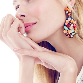 J.Crew - J.Crew Tortoise Wildflower Earrings