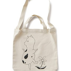 "TACOMA FUJI RECORDS - Dancing Mingus ""Pig Freedom"" Tote bag (natural)"