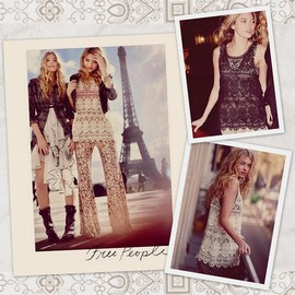 Free People - Crochet  tops