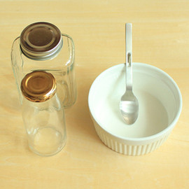 The Daiso - Glass Canisters and Ceramic Dish