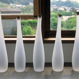 RYO SEKINO GLASS - U bottle(H230~300φ75~95 / 2006