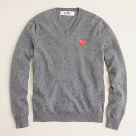 PLAY COMME des GARCONS - V-neck sweater