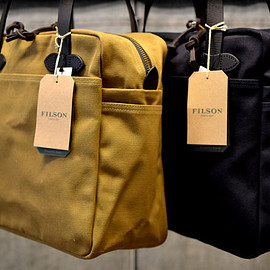 FILSON - Rugged Twill Tote With Zip