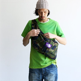 THE NORTH FACE PURPLE LABEL - Camouflage Wrap Bag