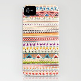 Sandra Dieckmann Illustration - Pattern iPhone Case