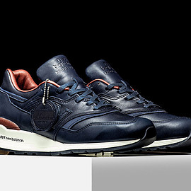 New Balance - M997 (Bespoke Horween) - Navy/Brown
