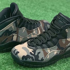 Jordan Brand - Air Jordan 10 - Desert Camo/Black/Light Chocolate
