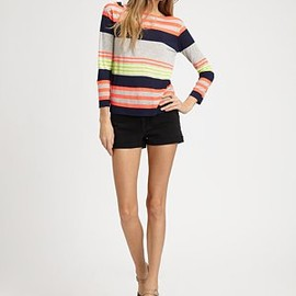 MARC BY MARC JACOBS - Flash Stripe Jersey Shirt