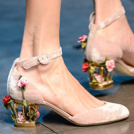 DOLCE&GABBANA - Shoe Porn at Dolce & Gabbana Fall Winter 2013