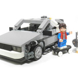 LEGO - Back to the Future DeLorean Set Coming in 2013