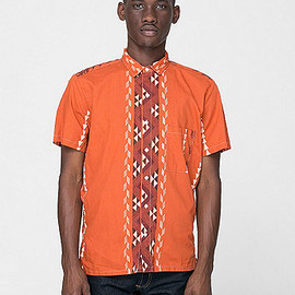 American Apparel - Tropical Short Sleeve Button-Up Shirts