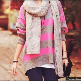 Fall Style / pink border