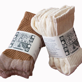 Organic Cotton Socks - FoxFibre Socks - Crew