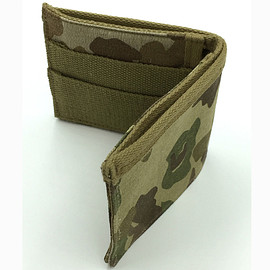 At The Front - Bifold Wallet - WWII US Military Camo