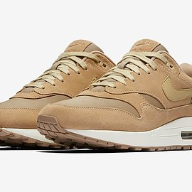 NIKE - Air Max 1 Premium - Khaki/Team Gold/Mushroom/Sail