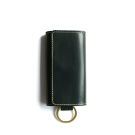 Whitehouse Cox - S9692 KEY CASE with RING/Green