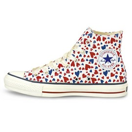 CONVERSE - ALL STAR HEARTS HI ホワイト