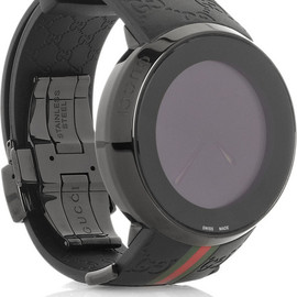 Gucci - YA114 - Rubber and PVD watch