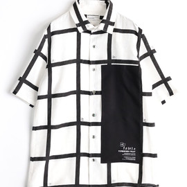 SHAREEF - LATTICE CHECK S/S SHIRTS