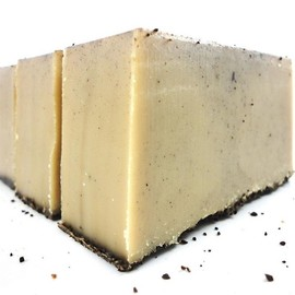 Luulla - Coffee Lovers Soap - Made with Goats Milk and Real Coffee Grounds