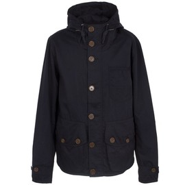 PRETTY GREEN - NAVY 3 POCKET HOODED JACKET